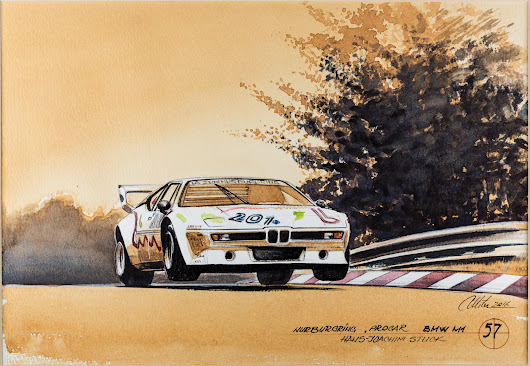 BMW 100 years of history explored through 101 paintings