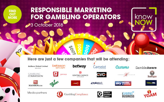 Still time to book tickets for Responsible Marketing for Gambling Operators