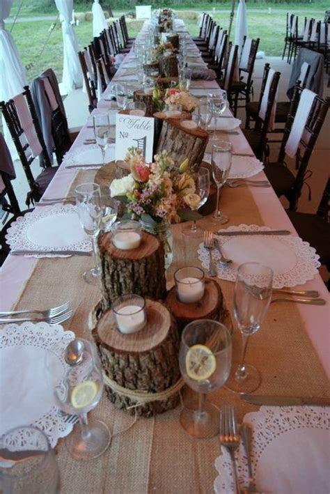 rustic head table decoration ideas   Rustic Wedding Ideas