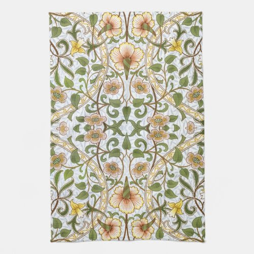 William Morris Daffodil Kitchen Tea Towel