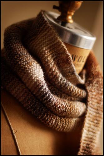 Espresso Scarf (by b r o o k l y n t w e e d)