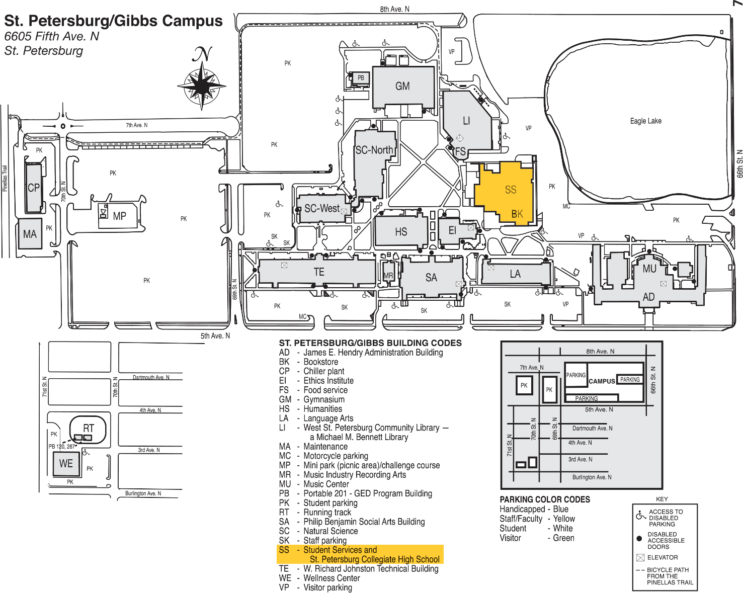 Spc Clearwater Campus Map | Bedroom 2018
