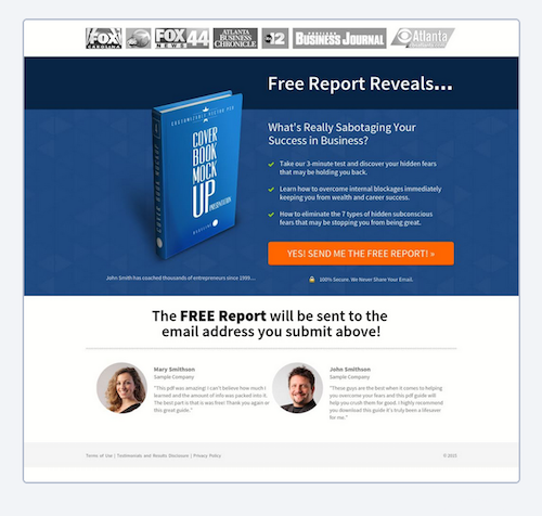 How To Create Great Lead Capture Landing Pages In Minutes -