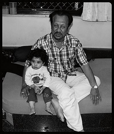 Advocate Abbas Kazmi and Nerjis Asif Shakir by firoze shakir photographerno1