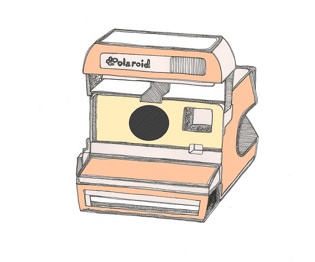Peachy_Polaroid_katielouillustration