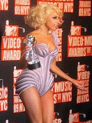 Lady Gaga at the 2009 MTV Video Music Awards.