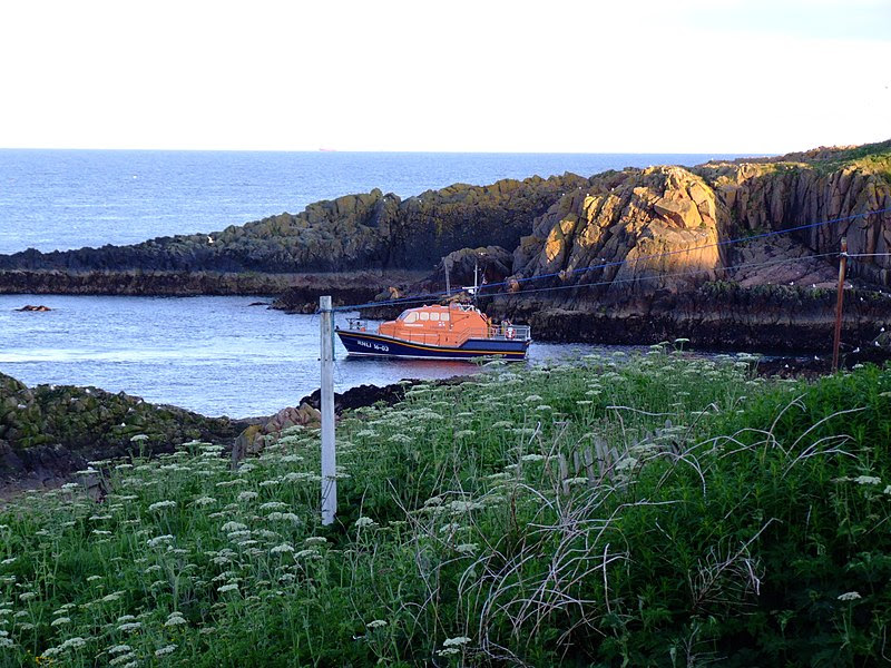 File:Peterhead Lifeboat on Exercise - geograph.org.uk - 1726519.jpg