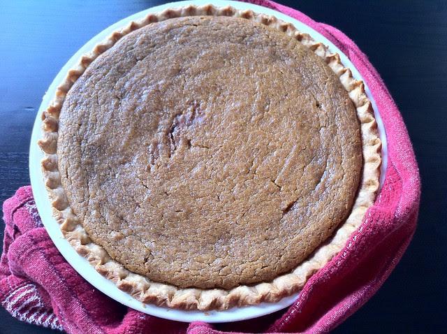 Pumpkin Pie Cooling