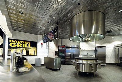 Upscale Foodservice Operations Help Stadiums Score Big - Foodservice Equipment & Supplies