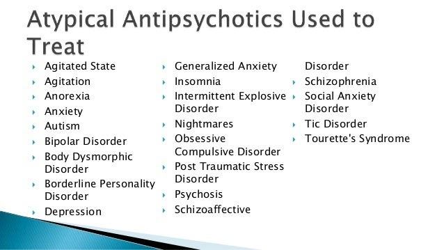 Antipsychotics For Anxiety And Depression - Etuttor