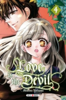 Couverture Love is the devil, tome 4
