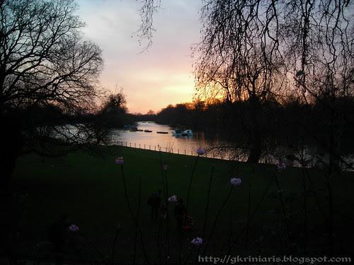 Sunset at Richmond