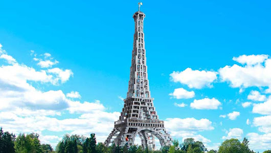 Win the LEGO® Eiffel Tower from Guinness World Records 2019 | Guinness World Records