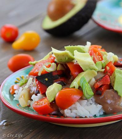 California Mexican Rice Bowl