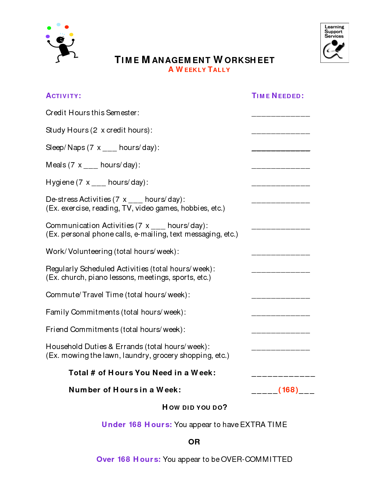 8 Best Images of Stress Management Worksheets - Anxiety ...