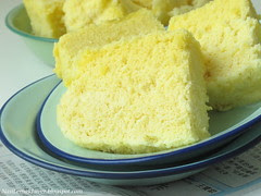 Ah Mah's Traditional steamed sponge cake