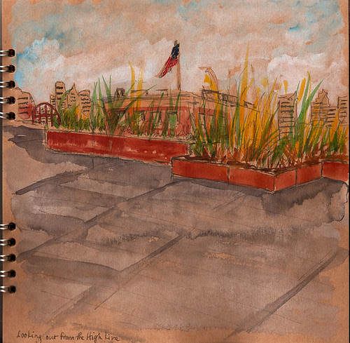 Sketchcrawl 25 - The High Line, New York, NY
