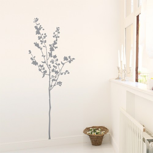 Wall Decal Small Tree - Nature wall decor - 4make - CoolWallArt