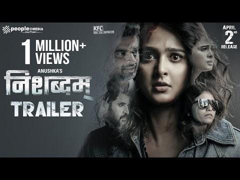 Nishabdham Hindi Movie Trailer