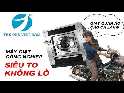Kinh nghiệm chọn máy giặt công nghiệp công suất lớn cho xưởng giặt