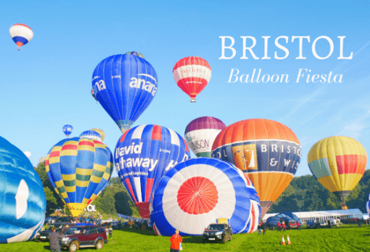 Bristol Balloon Fiesta and my balloon flight over Bristol