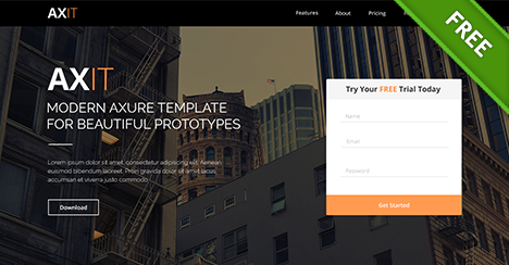 Free PSD Fresh Website Template - Free PSD Files