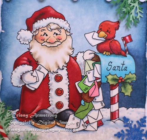 Santas mailboxupclose