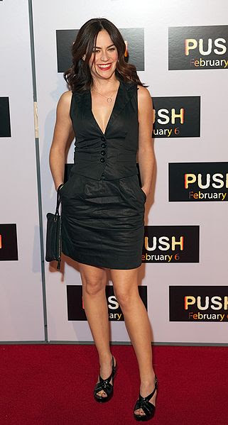 File:Maggie Siff at the premiere of Push.jpg