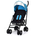 Foldable Lightweight Baby Infant Travel Umbrella Stroller-Light Blue