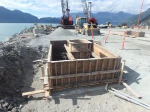 Construction Photos Squamish Terminals
