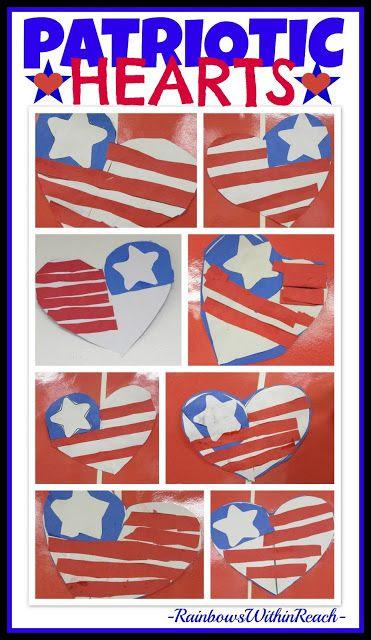 Patriotic Hearts via RainbowsWithinReach