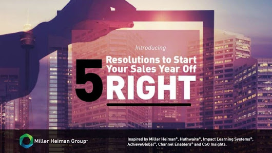 5 Resolutions to Start Your Sales Year Off Right