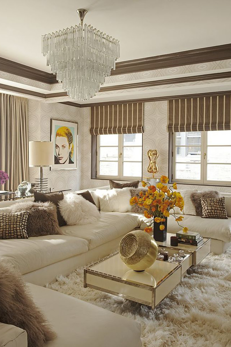 Glam Interior Design Inspiration to Take From Pinterest ...