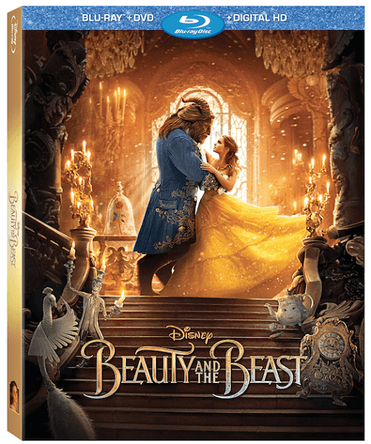 Disney's NEW Beauty and the Beast on Blu-ray - Yee Wittle Things