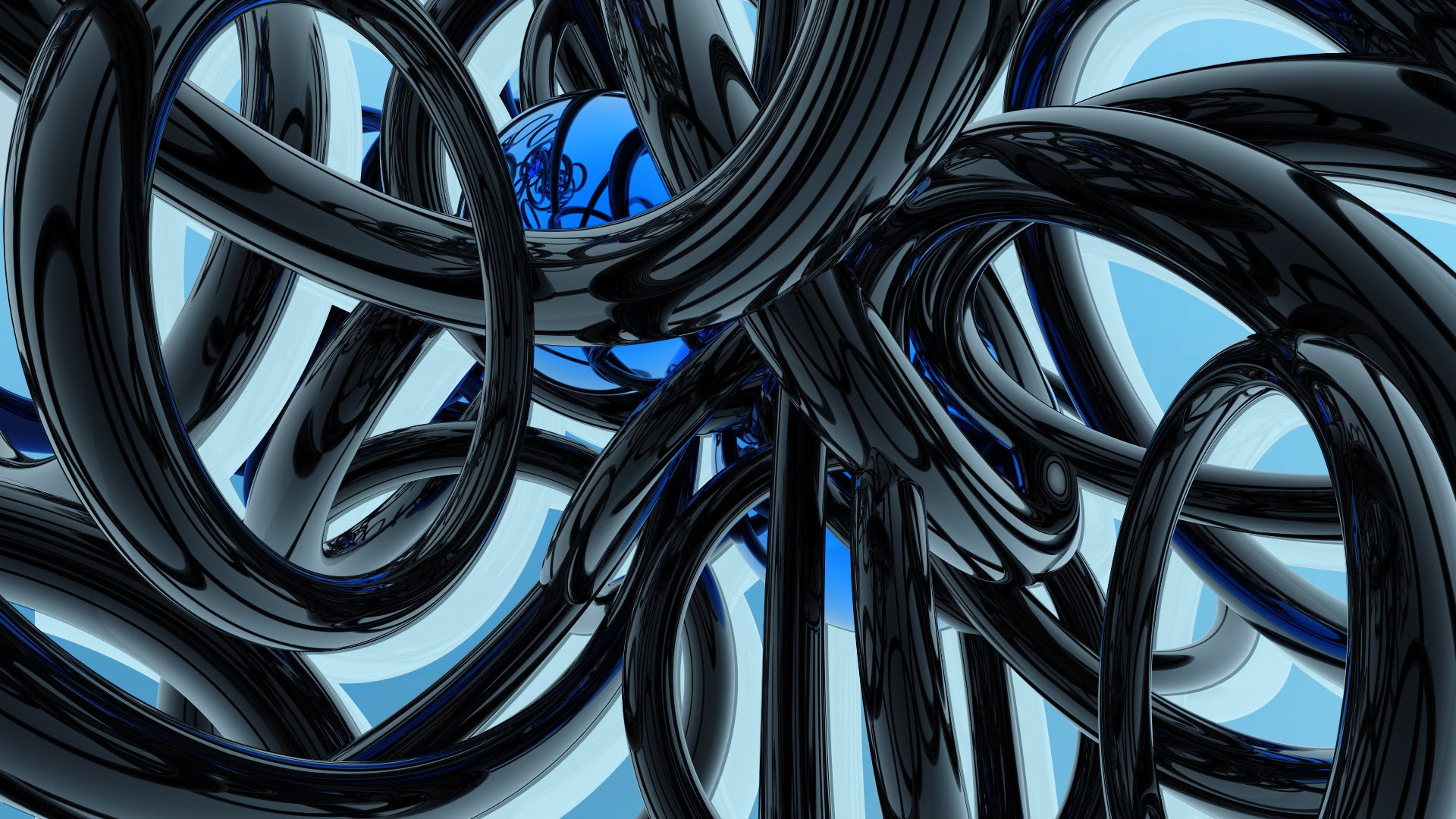 Black And Blue Wallpaper Abstract 3d Wallpapers In Jpg Format For