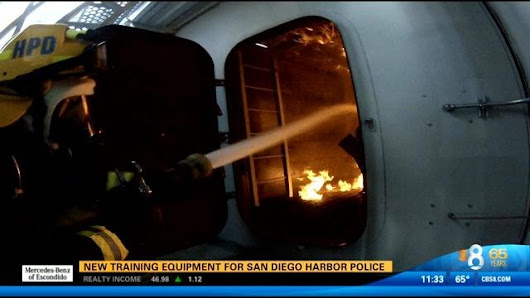 New training equipment for San Diego Harbor Police