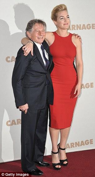 Será que vai ser um vencedor?  Kate e seu diretor está esperando para a premiação sucesso da temporada com seu novo filme