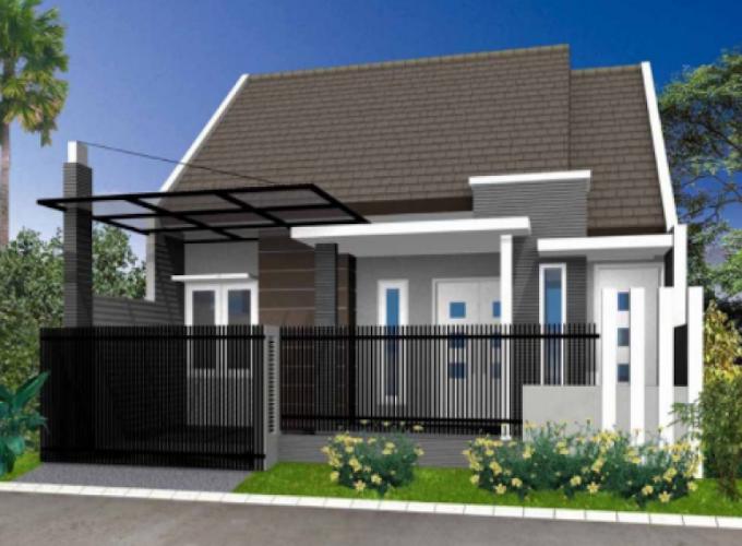 Contoh Tampak Depan Rumah Minimalis 2 Lantai | Ide Rumah Minimalis