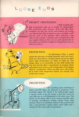 Kodak Ektachrome booklet 9