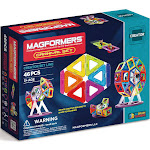 Magformers Carnival 46-Piece Magnetic Building Set