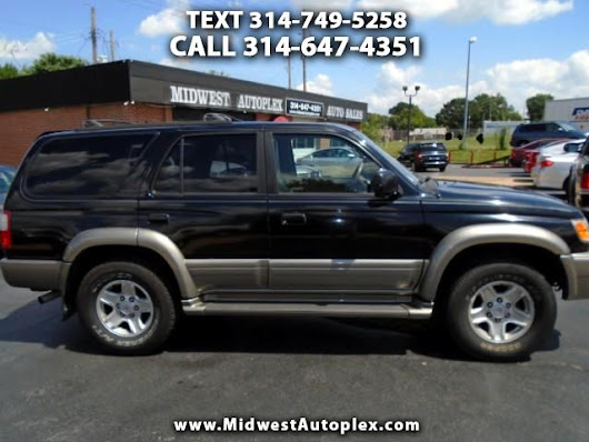 Used 2000 Toyota 4Runner Limited 4WD for Sale in St Louis MO 63139 Midwest Autoplex