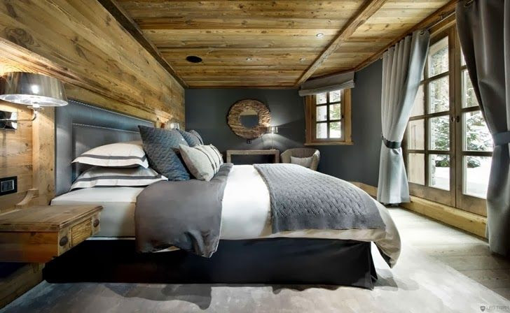 World of #Architecture: Warm #Interior #Design Idea From French #Alps | #worldofarchi #house #home #bedroom