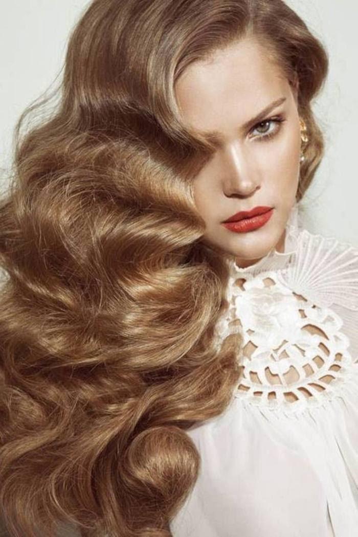 Frisuren Selber Machen Lange Haare Wellen Ginatantyas Site
