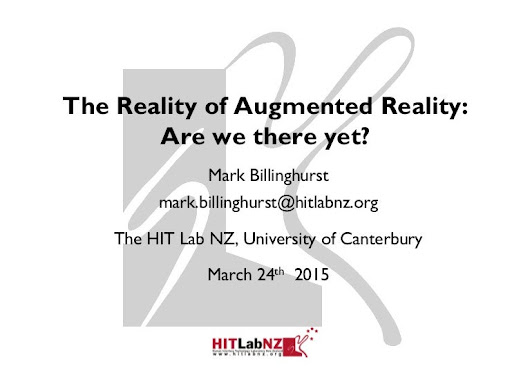 The Reality of Augmented Reality:  Are we there yet?