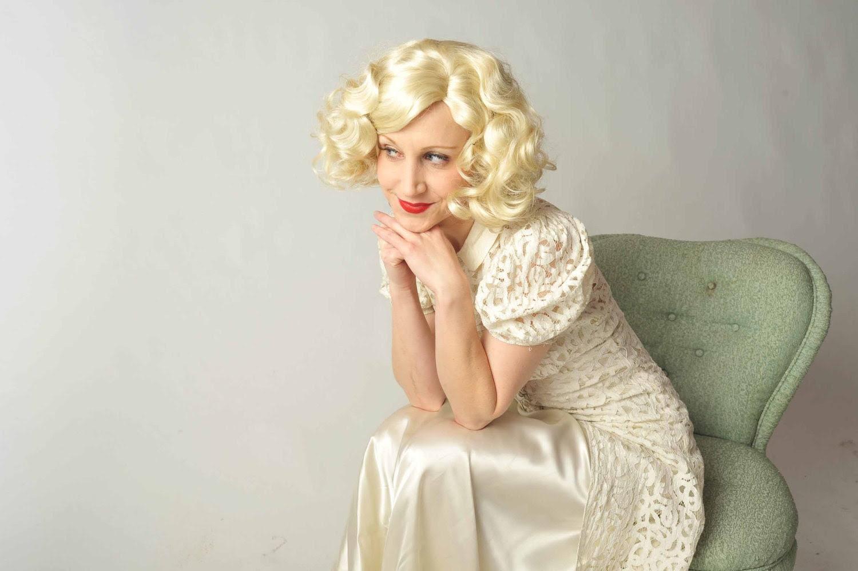 Vintage 1930s Wedding Coat // Bridal Salon at Fab Gabs: The Marionette Lace Button Front Wedding Coat