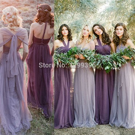 Lavender Bridesmaid Dresses Convertible Bridesmaid Dress
