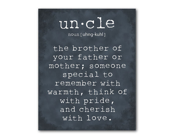 Quotes About Uncles 100 Quotes