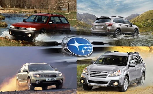 The Road Travelled: History of the Subaru Outback » AutoGuide.com News