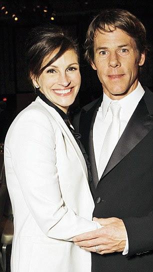Julia with her husband cameraman Daniel Moder