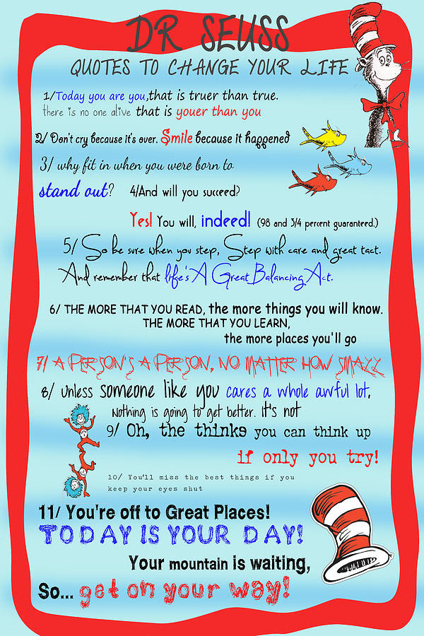 Dr Seuss Quotes Posters. QuotesGram